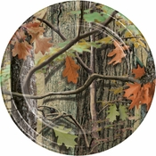 Hunting Camo Dinner Plates 96 ct