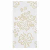 Gold Prestige Linen-Like Guest Towel in quantities of 125 / pkg, 4 pkgs / case