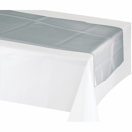 Silver Table Runner 12 ct