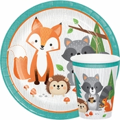Wild One Woodland Animals Party Supplies