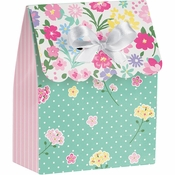 Floral Tea Party Favor Bags 72 ct