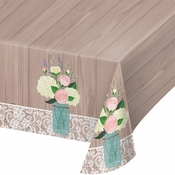 Rustic Wedding Table Covers 6 ct