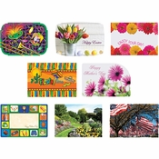 Spring Seasonal Multi Placemats 1,000 ct
