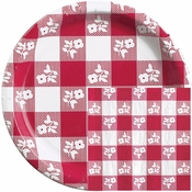 Red Gingham Party Supplies