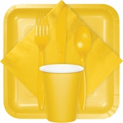 For modern appeal at budget friendly prices, shop our School Bus Yellow tableware products from the Touch of Color collection.