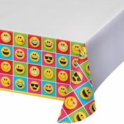 Show Your Emojions Plastic Tablecloths 6 ct