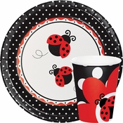 Ladybug Fancy Baby Shower Supplies
