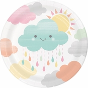 Clouds Dessert Plates 96 ct