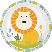 Happi Jungle Lion Dessert Plates 96 ct