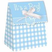 Its a Boy Gingham Favor Bags 72 ct