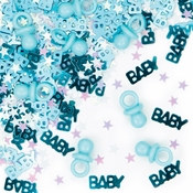 Its a Boy Pacifier Confetti 12 ct