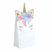 Unicorn Baby Shower Paper Treat Bags 96 ct