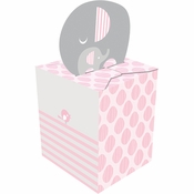Little Peanut Girl Favor Box 48 ct