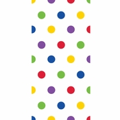 Multicolor Polka Dot Favor Bags 240 ct