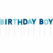 Birthday Boy Pick Candles 12 ct