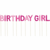 Birthday Girl Pick Candles 12 ct