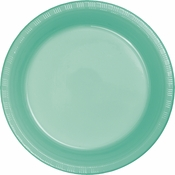 Fresh Mint Green Plastic Dinner Plates 240 ct