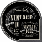 Vintage Dude Birthday Party