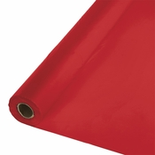 Touch of Color Classic Red Banquet Table Roll in quantities of 1 / pkg, 1 pkg / case