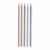 Striped Party Candles 240 ct