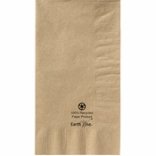Earth Wise Kraft Dinner Napkins 1/8 Fold 1,000 ct