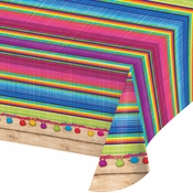 Serape Plastic Tablecloths 6 ct