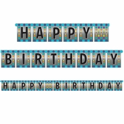 Birthday Pop Banners 12 ct