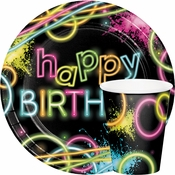 Glow Party Birthday Party Supplies