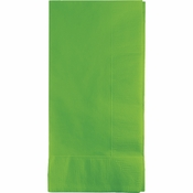 Touch of Color Fresh Lime 2 Ply Dinner Napkins 600 ct in quantities of 50 / pkg, 12 pkgs / case