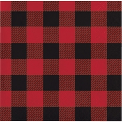 Buffalo Plaid Beverage Napkins 192 ct