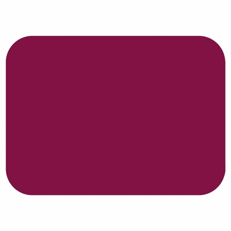 "Burgundy 15"" x 20"" Traymat sold in quantities of 1000 per case"