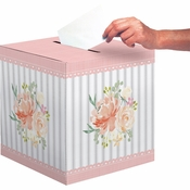 Country Floral Card Boxes 6 ct