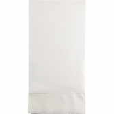 White 3 Ply Guest Towels 192 ct
