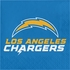 Blue, white and gold Los Angeles Chargers Luncheon Napkins sold in quantities of 16 / pkg, 12 pkgs / case