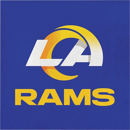Los Angeles Rams Luncheon Napkins 192 ct