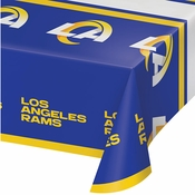 Los Angeles Rams Plastic Tablecloths 12 ct