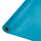 Touch of Color Turquoise Banquet Table Roll in quantities of 1 / pkg, 1 pkg / case