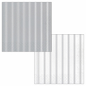 Gray Ticking Stripe Luncheon Napkins 192 ct