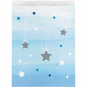 One Little Star Boy Paper Treat Bags 120 ct