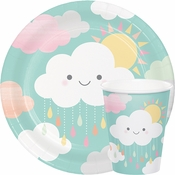 Clouds Baby Shower Supplies