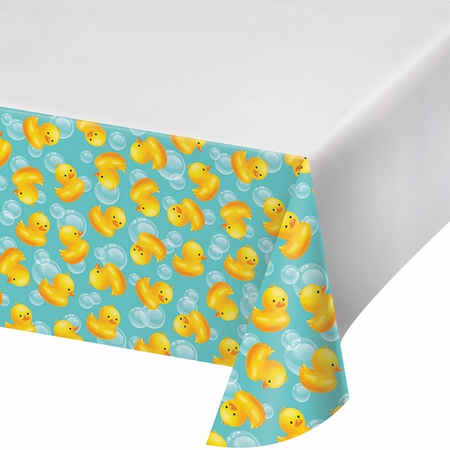 Bubble Bath Plastic Tablecloths 6 ct