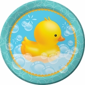 Bubble Bath Dinner Plates 96 ct