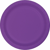 Amethyst Purple Plastic Dinner Plates 240 ct