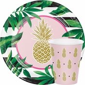 Golden Pineapple Bridal Shower Supplies