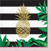 Golden Pineapple Luncheon Napkins 192 ct