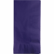 Touch of Color Purple 2-Ply Dinner Napkins in quantities of 50 / pkg, 12 pkgs / case