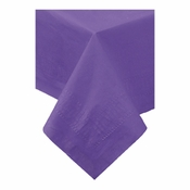 Purple Cellutex Paper Tablecloths are sold in quantities of 1 / pkg, 25 pkgs / case