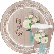 Bulk Rustic Bridal Shower Supplies
