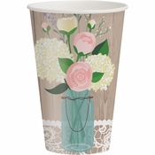 Rustic Wedding Cups 96 ct
