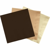 Wholesale Brown & Ivory Napkins